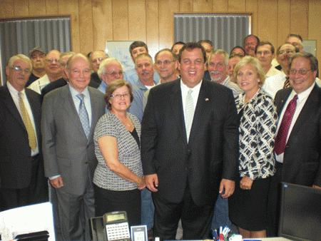 Governor Christie Visits the MSA